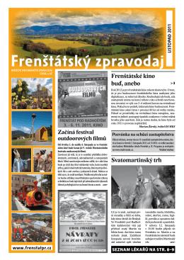 listopad - TIC Frenštát pod Radhoštěm
