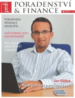 poradenství & finance poradenství & finance 8/2013