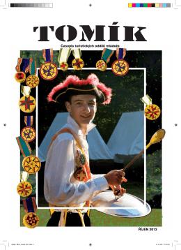 Tomík říjen 2013 - Asociace TOM – Pro členy