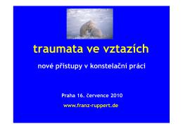 Přednáška Franze Rupperta z léta 2010