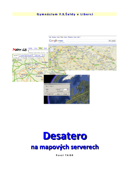 manuál - Zeměpis a geografie GFXŠ Liberec