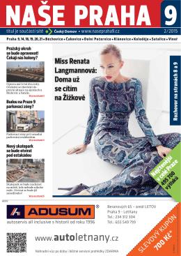 NP9 - 2/2015 - Naše Praha 9