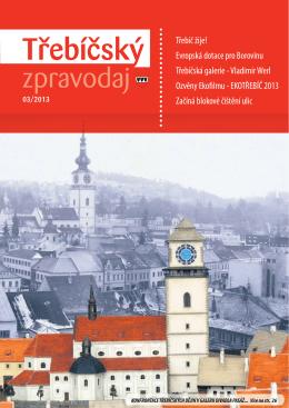 Třebíčský zpravodaj č. 3/2013