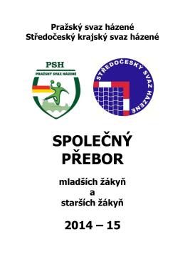 Rozpis společné soutěže mladších a starších žákyň 2014/2015