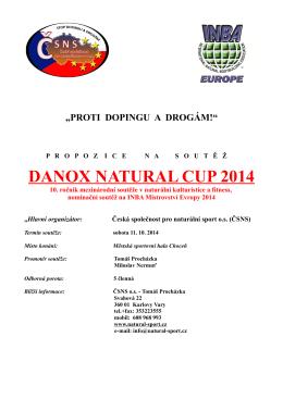 DANOX NATURAL CUP 2014