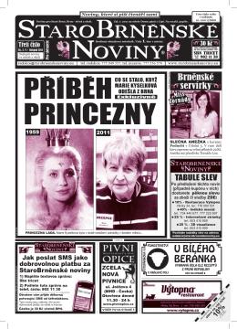 STAROBRNENSKE NOVINY - StaroBrněnské noviny