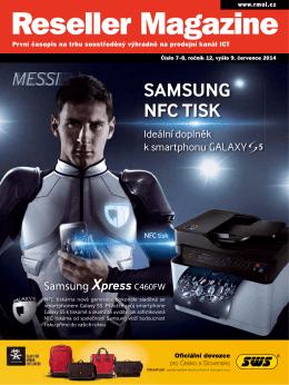 SAMSUNG NFC TISK - Reseller Magazine OnLine