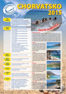 Katalog - Cestovní kancelář Kamza