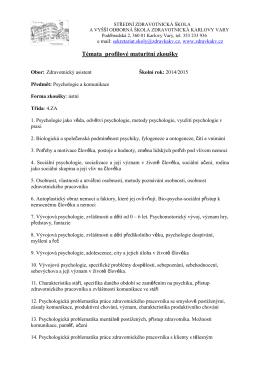 Psychologie a komunikace.pdf - Střední zdravotnická škola a vyšší