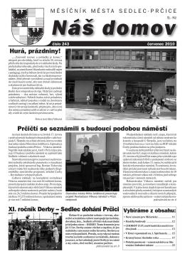 Červenec 2010 - Město Sedlec