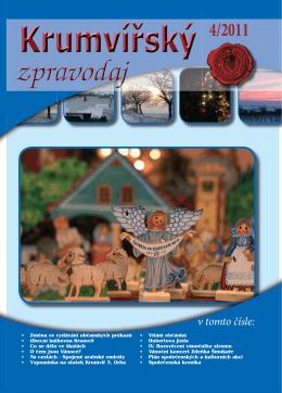 Krumvířský zpravodaj 4/2011
