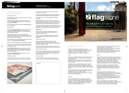 Technické listy Flagstone (v novém okně)