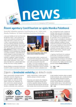 Zpravodaj COT business 1/2015