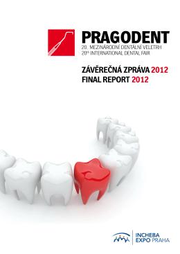 ZÁVĚREČNÁ ZPRÁVA 2012 FINAL REPORT 2012