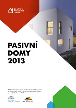 Pasivní domy 2013