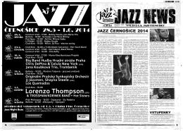 Jazz News 04 / 2014 -