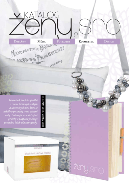 Vítejte v e-Katalogu ŽENY s.r.o., který vznikl od nás žen, díky ženám