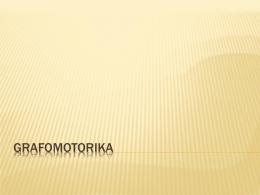 Grafomotorika (PDF)