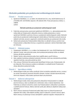 všeobecnými obchodními podmínkami [pdf]