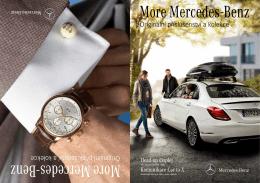 Trendy doplňky s hvězdou Mercedes