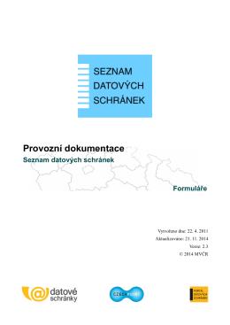 Formuláře - Czech POINT