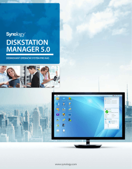 DISKSTATION MANAGER 5.0