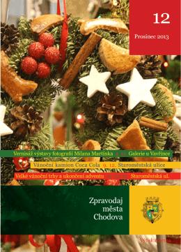 Prosinec - Kulturní a společenské středisko Chodov