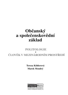 Politologie / Člověk v mezin. prostředí