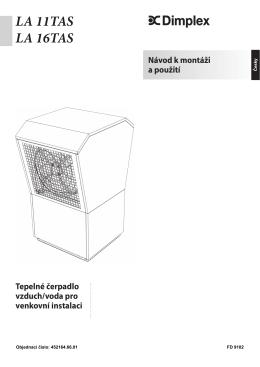 Tepelné čerpadlo vzduch/voda