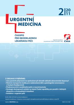 2/2011 - Urgentní medicína