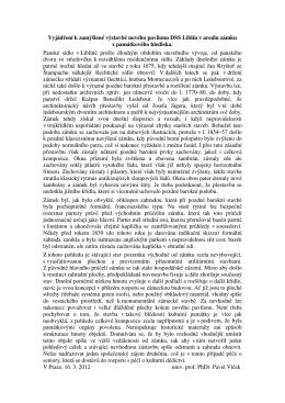 Posouzení novostavby prof. PhDr. Pavlem Vlčkem