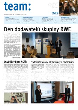 Den dodavatelů skupiny RWE