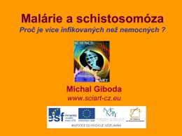 Michal Giboda - Malárie a schistosomóza