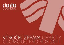 výroční zpráva charity olomouc pro rok 2011