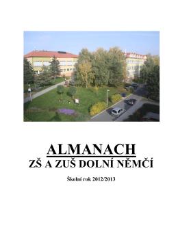 ALMANACH - ZŠ a ZUŠ Dolní Němčí