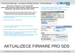 Upgrade_sds_c_HTML + FIRMWARE.pdf - Měření Energie