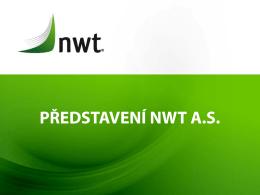 Prezentace společnosti NWT