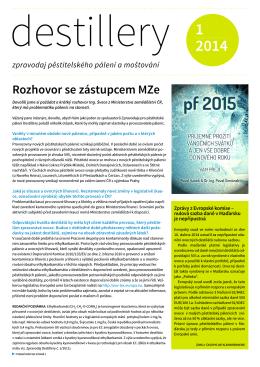 Destillery 2014 - J. HRADECKÝ, spol. s ro (JHP) Pacov