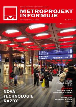 č. 01/2011 - Metroprojekt as