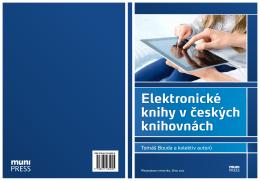 Elektronické knihy v českých knihovnách - E