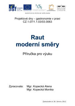 Raut moderni smery
