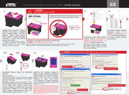 návod na doplnění tiskových kazet: hp 650 (cz102a)