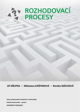 Rozhodovací procesy | UPCE