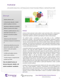 Produktový list v českém jazyce