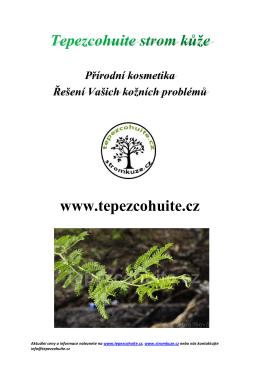 Katalog produktů - Tepezcohuite.cz
