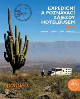 expediční a poznávací zájezdy hotelbusem 2014