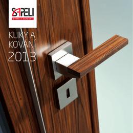 Katalog SAPELI kliky 2013