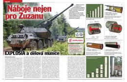 EXPLOSIA a dělová munice