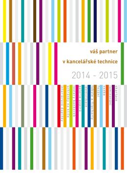 katalog kancelářské techniky 2014/15