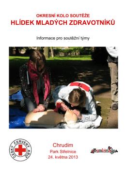 hlídek mladých zdravotníků - Český červený kříž Oblastní spolek
